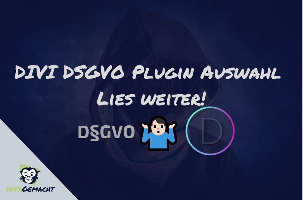 DIVI DSGVO Plugin Auswahl 2019 – by WebGemacht klicke Hier