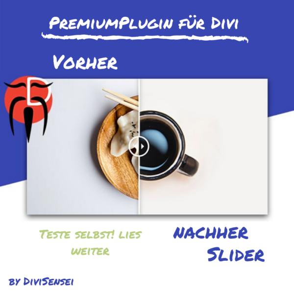 Premium Plugin - Vorher Nachher Slider fuer Divi